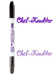 Маркер двухсторонний Толстый-Тонкий  Edible Jumbo & Skiny Marker (Эдибл Джамбо & Скини Маркер)- Фиолетовый (Violet)