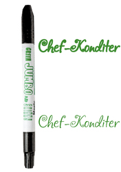 Маркер двухсторонний Толстый-Тонкий  Edible Jumbo & Skiny Marker (Эдибл Джамбо & Скини Маркер) - Зеленый(Green)
