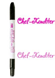 Маркер двухсторонний Толстый-Тонкий  Edible Jumbo & Skiny Marker (Эдибл Джамбо & Скини Маркер)- Розовый (Pink)