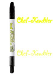 Маркер двосторонній Товстий-Тонкий Edible Jumbo & Skiny Marker (Едібл Джамбо & Скіні Маркер) - Жовтий (Yellow)