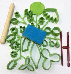 Кондитерский набор для создания цветов из 27 ед.