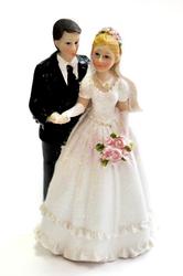 Фигурка жених и невеста 15 см 1204B