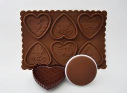 """Набор для печенья и шоколада """"Сердце"""""""