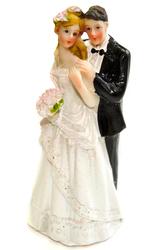 Фігурка наречений і наречена 12 см 1203 C
