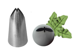 Насадка кондитерская листик №115 (44 мм, 26х18 мм)