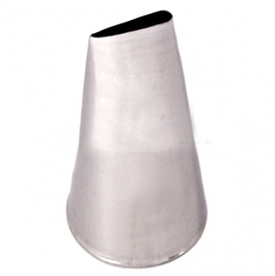 Насадка кондитерская лепесток розы средний №124 (45 мм 26х15 мм)