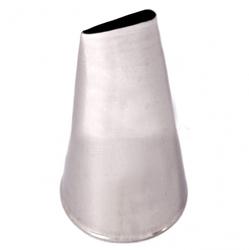 Насадка кондитерська пелюстка троянди середній №124 (45 мм 26х15 мм)