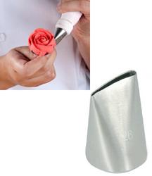Насадка кондитерская лепесток розы средний №126