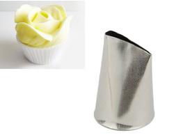 Насадка кондитерська пелюстка троянди середній №127