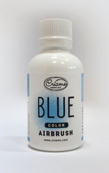 Краситель для аэрографа Criamo Airbush Голубой / Blue 60 г.