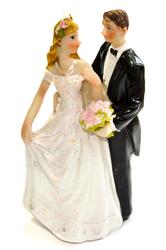 Фигурка жених и невеста 12 см 1203 А
