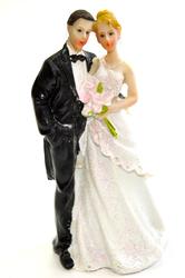 Фігурка наречений і наречена 12 см 1203 D