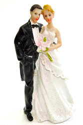 Фигурка жених и невеста 12 см 1203 D