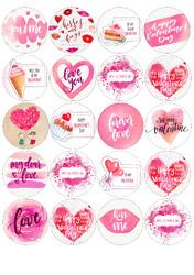 Картинки для мафінів, капкейків З Днем Святого Валентина №176