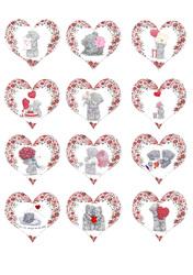 Картинки для маффинов,капкейков С Днём Святого Валентина №180