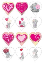 Картинки для мафінів, капкейків З Днем Святого Валентина №182