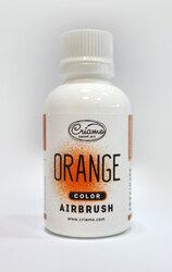 Краситель для аэрографа Criamo Airbush Оранжевый / Orange 60 г.