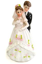 Фигурка жених и невеста 12 см 1202 D