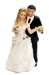 Фигурка жених и невеста 15 см 1204 C