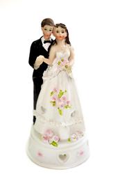 Фігурка наречений і наречена 17 см 1205А