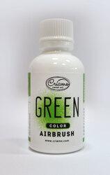 Краситель для аэрографа Criamo Airbush Зеленый / Green 60 г.