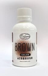 Краситель для аэрографа Criamo Airbush Коричневый / Brown 60 г.