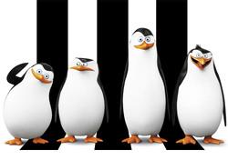 Картинка з мультика Пінгвіни Мадагаскару №1