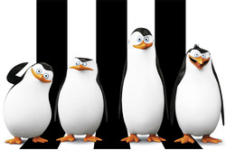 Картинка из мультика Пингвины Мадагаскара №1