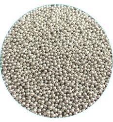 Цукрові кульки Срібні 2 мм, 100 г
