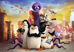 Картинка з мультика Пінгвіни Мадагаскару №2