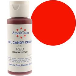 Краситель для шоколада  AmeriColor Red (красный) 56 гр.