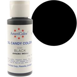 Краситель для шоколада  AmeriColor Black (черный) 56 гр.