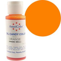 Краситель для шоколада  AmeriColor Orange  (оранжевый) 56 гр.