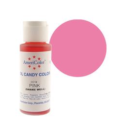 Краситель для шоколада  AmeriColor Pink  (розовый) 56 гр.