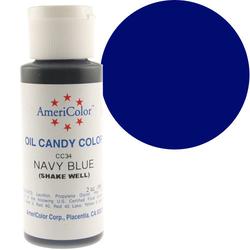 Краситель для шоколада  AmeriColor Navy Blue  (темно-синий) 56 гр.
