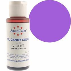 Краситель для шоколада  AmeriColor Violet (фиолетовый) 56 гр.