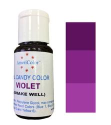 Краситель для шоколада  AmeriColor Violet (Фиолетовый) 18,43 г.