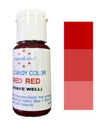 Краситель для шоколада  AmeriColor Red (красный) 18,43 г.