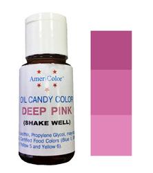 Краситель для шоколада  AmeriColor Pink  (розовый) 18,43 г.