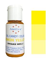 Краситель для шоколада  AmeriColor Yellow  (Желтый) 18,43 г.