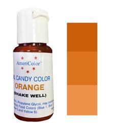 Краситель для шоколада  AmeriColor Orange  (оранжевый) 18,43 г.