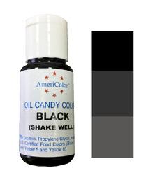 Краситель для шоколада  AmeriColor Black (черный) 18,43 г.