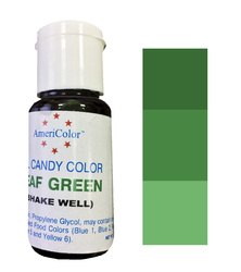 Краситель для шоколада  AmeriColor Green (зеленый) 18,43 г.