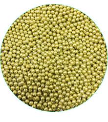 Золотые шарики 3 мм - 50 г