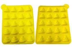 Форма силиконовая для кейк-попсов тортики(ёлочки)