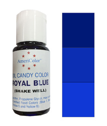 Краситель для шоколада  AmeriColor Blue (синий) 18,43 гр.