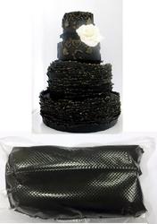 Мастика для моделювання чорна Modecor РОР 0,5 кг