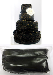 Мастика для моделирования черная Modecor РОР 5 кг
