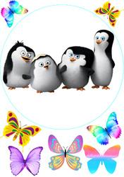 Картинка з мультика Пінгвіни Мадагаскару №3