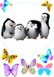 Картинка из мультика Пингвины Мадагаскара №3